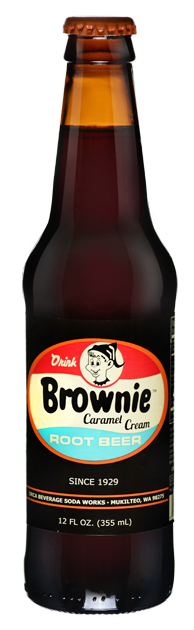 Pop Bottled Brownie Caramel Root Beer